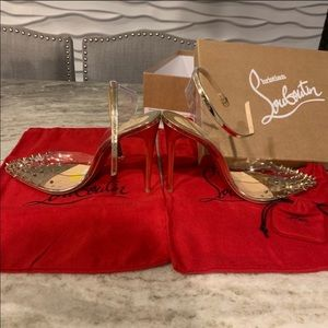 Christian Louboutin Shoes - BRAND NEW!! Christian Louboutin Spikoo 100